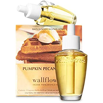 Bath and Body Works Pumpkin Pecan Waffles Wallflowers Box of 2 Refills