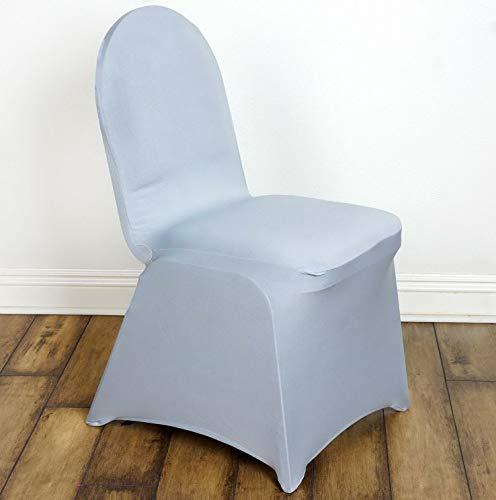 Mikash 25 Sleek Spandex Banquet Chair Covers Wedding Party Decor 5+ Colors! | Model WDDNGDCRTN - 20803 | ()