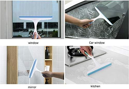 el ba/ño para limpieza de mamparas de ducha el hogar raqueta limpiacristales Zhouzhouji Limpiador de cristales para ventanas de cristal para el coche tama/ño peque/ño