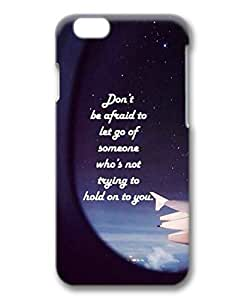 Armener Hard Protective 3D iPhone 6 Plus (5.5 inch) Case With life Quote-23
