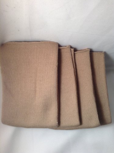 - Knee/Elbow Warmers - Tan - 2 Pairs (4 Individual Warmers)