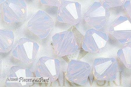 Swarovski Elements Crystal Beads Bicone 5301 4mm VIOLET OPAL (48) 522189