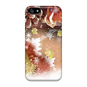 Fashion Protective Winter On Its Way Case Cover For Iphone 5/5s