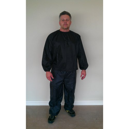 Nylon Black Sauna Suit – 3XL Review