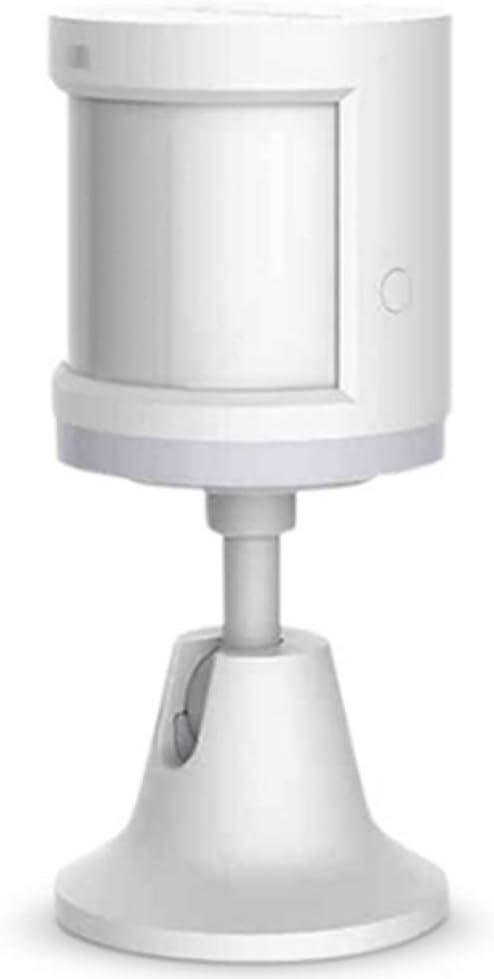 Smart Home para Xiaomi Aqara Human Motion Sensor Dispositivo de Seguridad, Sensor de Movimiento PIR Aqara para el Cuerpo Humano de 360°, Sensor de Movimiento inalámbrico Aqara,para Mijia HomeKit