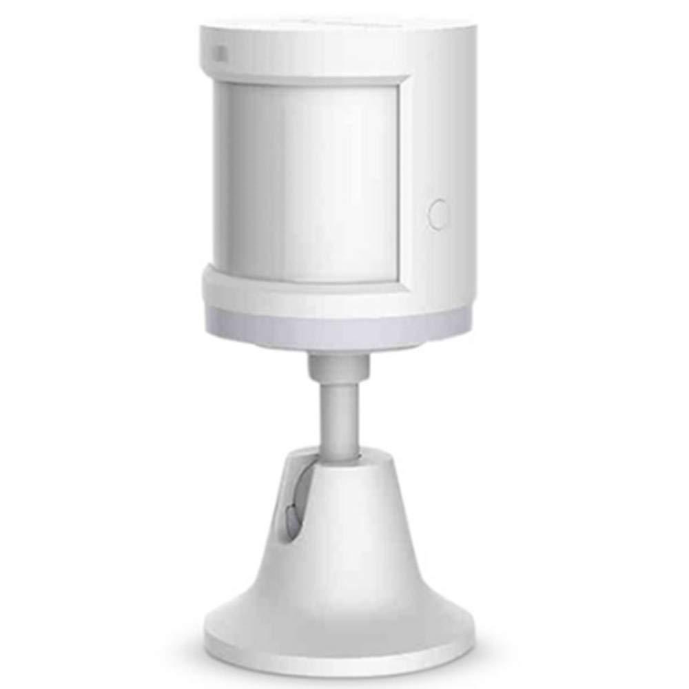 Para Mijia Aqara Human Body Sensor, Aqara PIR Sensor Human Body Motion Sensor, sensor del cuerpo humano Xiaomi Aqara, sensor de movimiento ZigBee, kit de seguridad doméstica