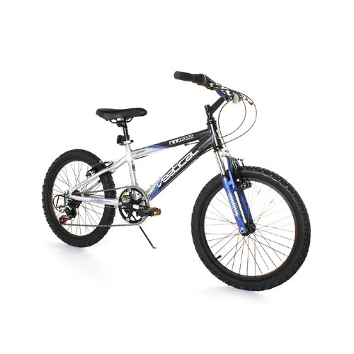 UPC 087876105732, Dynacraft M 7S Vertical Nitrous Bike (Black/Blue, 20-Inch)
