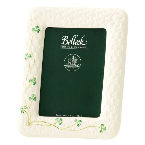 (Belleek 0529 Shamrock 5 by 7-Inch)