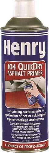 Henry/MONSEY HE104Q027 Quikdry 104Q Asphalt Spray Primer, Black by HENRY / MONSEY