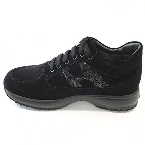 HOGAN Interactive Bambina HXC00N002409KE Black Sneaker Autunno/Inverno