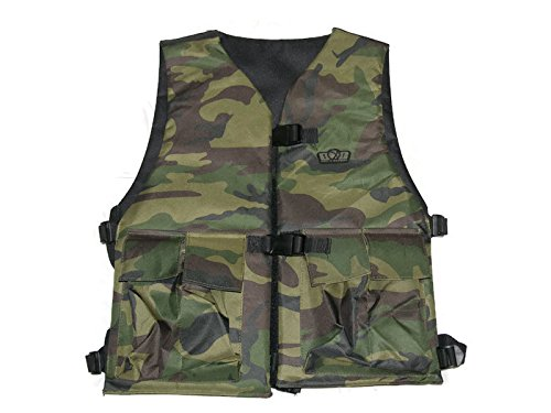 (GXG Reversible Paintball Vest/Chest Protector - Camo/B)