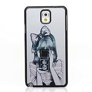 YULIN Cámara Beauties Patrón Hard Case para Samsung Galaxy Note N9000 3