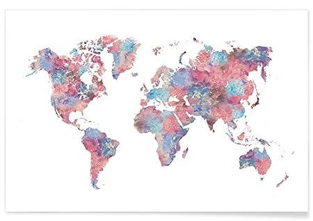 Juniqe posters 20x30cm world maps design wanderlust format juniqe posters 20x30cm world maps design wanderlust format landscape pictures gumiabroncs Choice Image