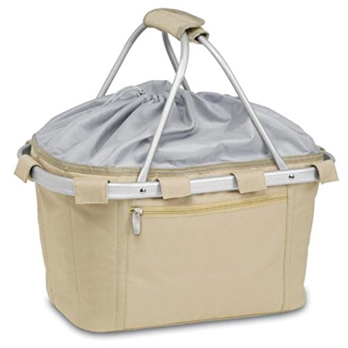 Picnic Time 645-00-100 Metro Basket Collapsible insulated basket with aluminum frame by PICNIC TIME