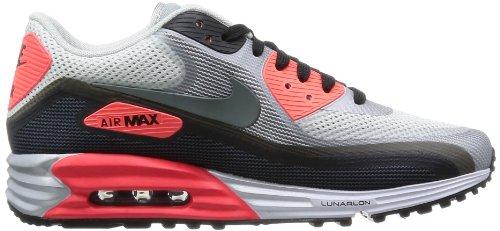 Nike Air Max 90 Lunar C3.0 631744-106 Herren niedrig Mehrfarbig (White/Clear Grey)
