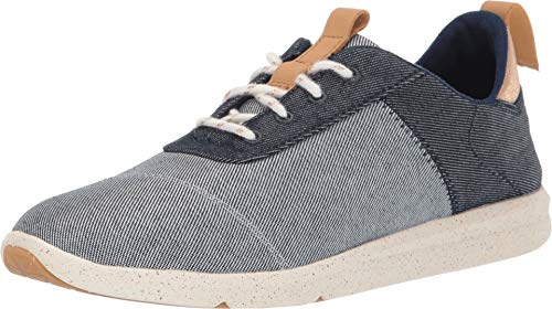 Toms Women's Cabrillo Navy Denim Sneaker Shoes (Discount Code Tom)