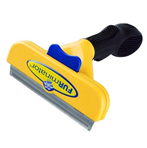 Short Hair deShedding Brush for Large Dogs 51-90 Lbs 4' Inch Edge Blade FURminator Grooming Tool Comb
