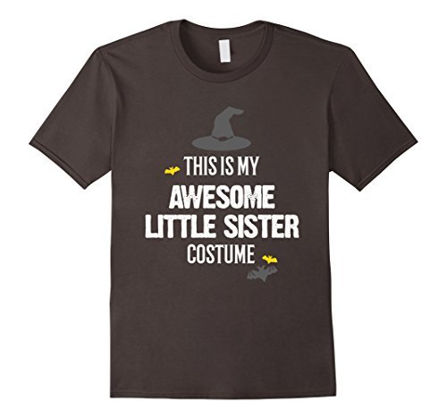 Little Sister Halloween Costume - Mens Awesome Little Sister Halloween Costume T-Shirt 3XL Asphalt