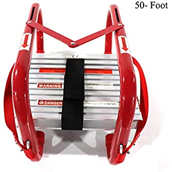 Hynawin Portable Fire Ladder 5 Amp 6 Story Emergency Escape