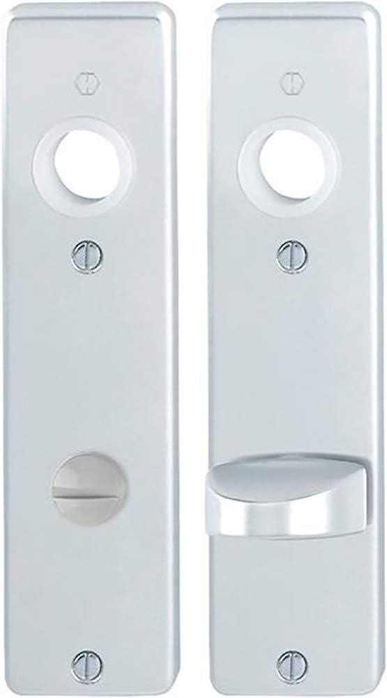 Hoppe Bad//WC-Kurzschild mit H/ülsenschrauben-Verbindung Paar Aluminium 202KP