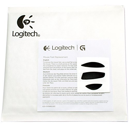 Genuine Logitech Replacement Mouse Feet - For Performance Mouse MX by Logitech