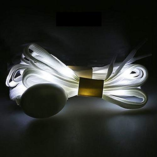 Mammoth Sales LED Light Up Flashing Shoelaces w/ 3 Modes Material -