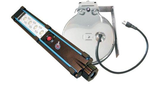 Cliplight 223412 HEMITECH 4 LED Work Light and Chrome Cord - Hemitech Light