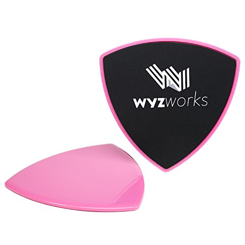 WYZworks Core Slider Exercise Hardwood