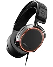 SteelSeries Arctis Pro High Fidelity Gaming Headset - Hi-Res Speaker Drivers - DTS Headphone:X v2.0 Surround for PC - Black