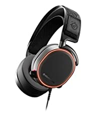 SteelSeries 61486 Arctis Pro High Fidelity Gaming Headset for PC, Black