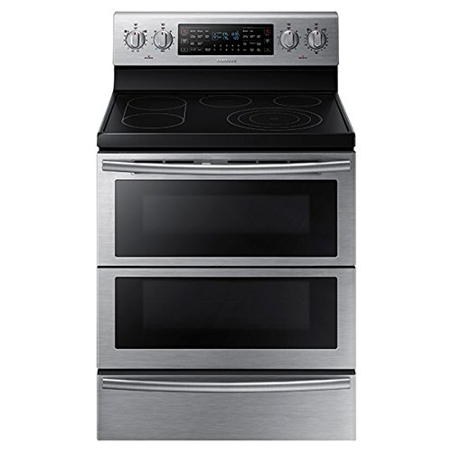 Samsung NE59J7850WS 30 Self-Cleaning Freestanding Electric Double (Self Cleaning Warming Drawer Range)