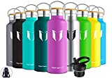 Super Sparrow Stainless Steel Vacuum Insulated Water Bottle, Double...