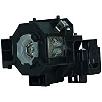 AuraBeam Economy Epson PowerLiteS5 Projector Replacement Lamp with Housing