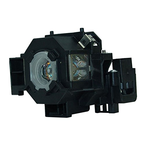 Aurabeam Economy ELPLP41 Replacement Lamp with Housing for EPSON Projectors EX30 EX50 EX70 H283A H283B H284A PowerLite 77c PowerLite 78 PowerLite HC 700 PowerLite S5 PowerLite S6 PowerLite W6 from Aurabeam