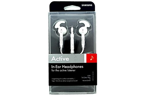 Samsung Active In-Ear Headset - Retail Packing - (White)