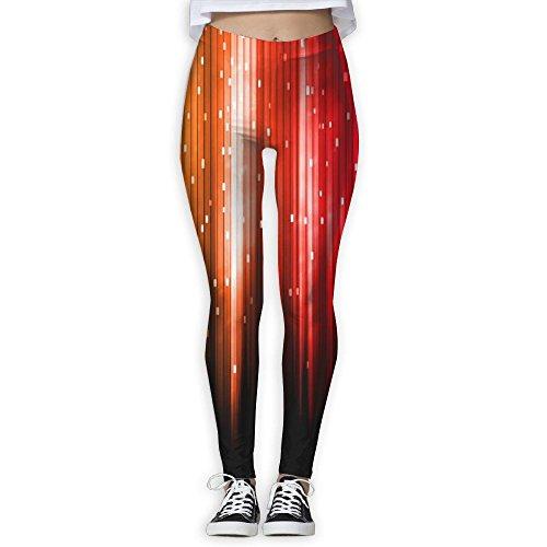 Vivacious Velvet (Womens Gym Gorgeous Bling Tie Yoga Workout Pants Sweatpants)