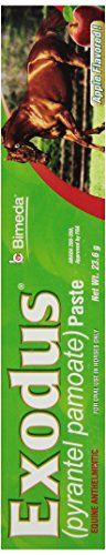 IVESCO 6850007 Exodus Equine Deworm Paste for Horses, (Strongyle Wormer)