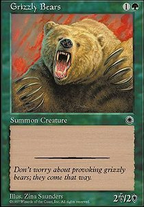 Magic: the Gathering - Grizzly Bears - Portal