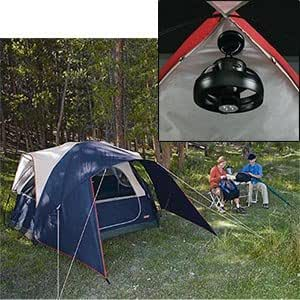 Amazon Com Coleman Rogue River 4 Person Tent With