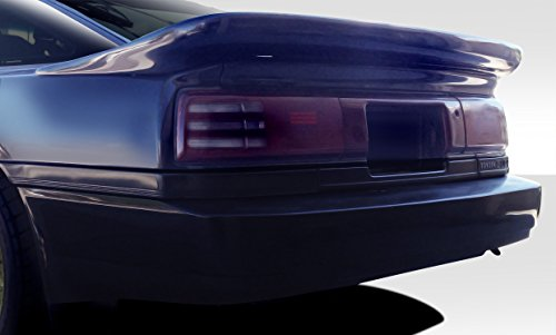 Duraflex ED-YIF-373 Bomber Wing Trunk Lid Spoiler - 1 Piece Body Kit - Compatible For Toyota Supra 1986-1992