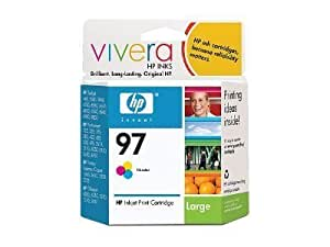 HP 97 - Print cartridge - 1 x color (cyan, magenta, yellow) - 560 pages - for Officejet 100, H470, -