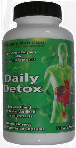Allegany Nutrition Daily Detox - 90 comte