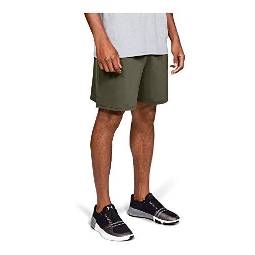 (Under Armour Men's Tactical Tech Shorts, Marine Od Green (390)/Marine Od Green, Medium)