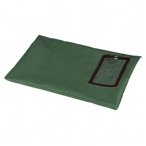 PM Company Securit Flat Transit Sacks, 18 x 14 Inches, Dark Green, 25 Per Carton (04649) by PM Company