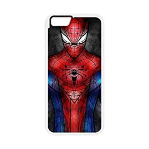 iPhone 6 Plus 5.5 Inch Cell Phone Case White Spiderman 003 SYj_876108