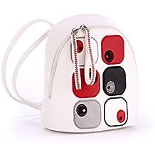 Alba Soboni Women's Simple Design Daypack School Deluxe Ladies Handbags Fashion Embroider Backpack