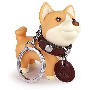 Amazon.com : Cute Dog Key Chain, Shiba Inu Keyring