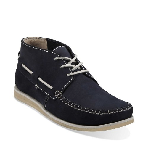 Clarks Originals Craft Vela Navy Nubuck