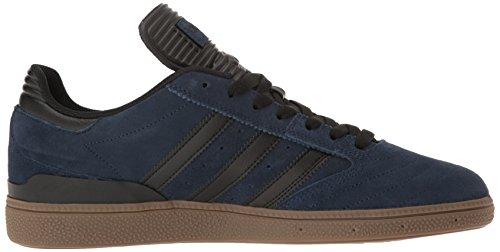 Adidas Mens Skateboard La Sneaker Busenitz Blu Scuro / Nero / Gomma