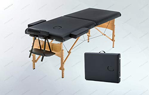 COLIDYOX_Massage Table with Spa Bed,made of hardwoods,two-section of high-density padding,extreme comfort,massage experience,84-inch massage table,professional therapists and alike ...